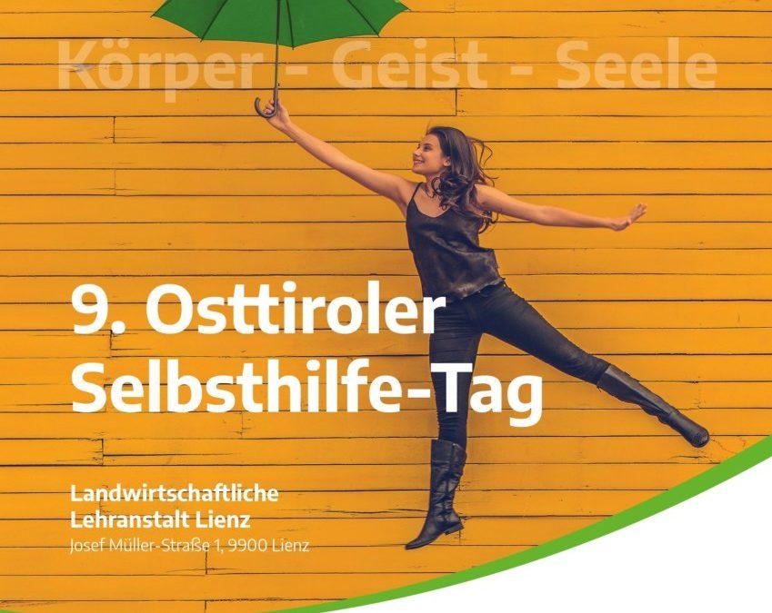 9. Osttiroler Selbsthilfetag 28. März 2020